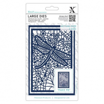 X-cut Large Dies (2pcs) - Lace Dragonfly