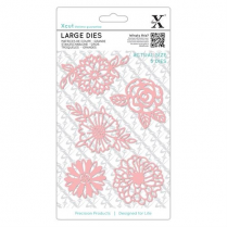 X-cut Large Dies (5pcs) - Florals