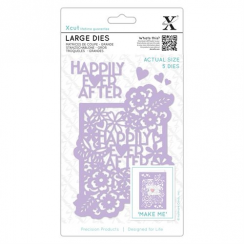 X-cut Large Dies (5pcs) - Happily Ever After