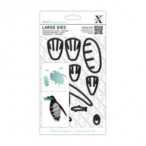 X Cut Large Dies 8pcs