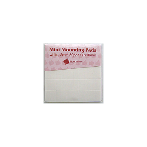 Woodware Large Mounting Pads 2mm