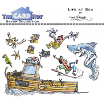 The Card Hut LIFE AT SEA - STAMP SET