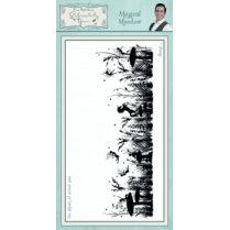 Phill Martin Magical Meadow Pre Cut Rubber Stamp
