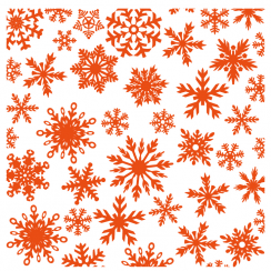 Marianne Designs Marrianne Designs Embossing Folder - Ice Crystals