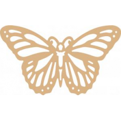 Creative Expressions MDF Butterfly Filigree 30cm