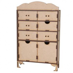 Creative Expressions Mdf Drawer Set With Feet