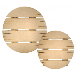 Creative Expressions Mdf Driftwood Circle pk 2