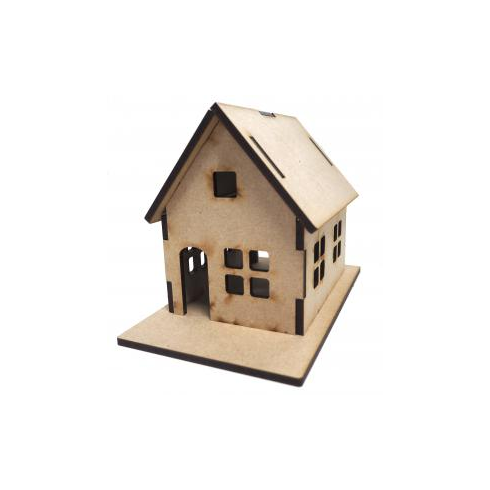 Creative Expressions Mdf Gingerbread House with Base