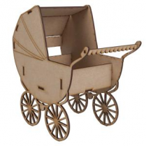 Creative Expressions Mdf In The Nursery Pram
