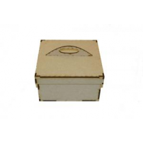 Creative Expressions Mdf Small Keepsake Box