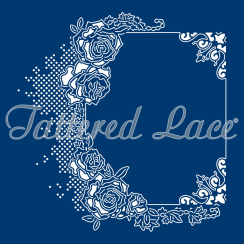 Tattered Lace Melded Romantic Roses