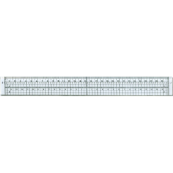 Crafts Too Metal Edge Craft Ruler With Stitching Holes 300mm x 35mm