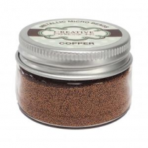 Creative Expressions Metallic Micro Beads - Copper