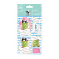 Papermania Mini Decoupage - Paws for Thought - Purrrfect