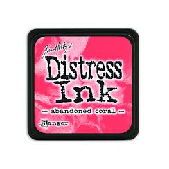 Ranger Mini Distress Ink Pad - Abandoned Coral