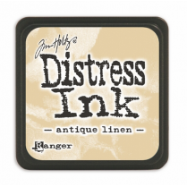 Ranger Mini Distress Ink Pad - Antique Linen