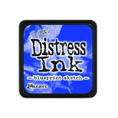Ranger Mini Distress Ink Pad - Blueprint Sketch