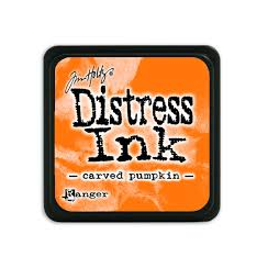 Ranger Mini Distress Ink Pad - Carved Pumpkin