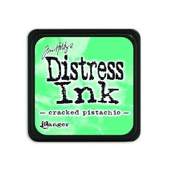 Ranger Mini Distress Ink Pad - Cracked Pistachio
