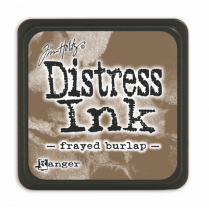 Ranger Mini Distress Ink Pad - Frayed Burlap