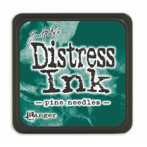 Ranger Mini Distress Ink Pad - Pine Needles