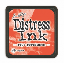 Ranger Mini Distress Ink Pad - Ripe Persimmon