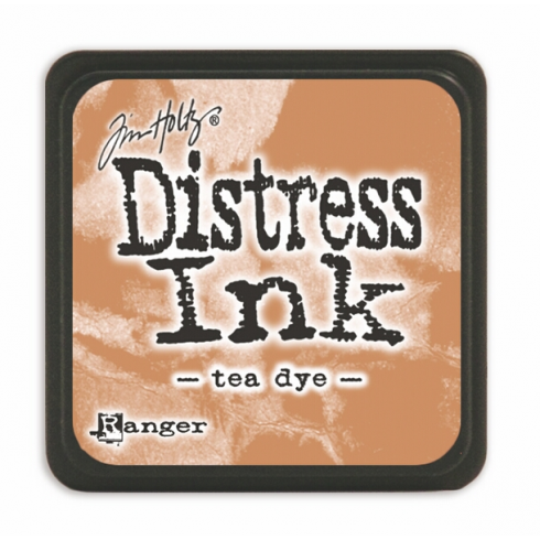 Ranger Mini Distress Ink Pad - Tea Dye