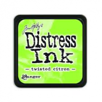 Ranger Mini Distress Ink Pad - Twisted Citron