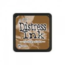 Ranger Mini Distress Ink Pad - Vintage Photo