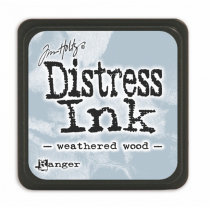 Ranger Mini Distress Ink Pad - Weathered Wood