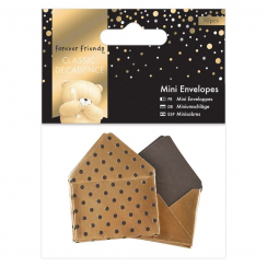 Mini Envelopes (10pcs) - Forever Friends - Classic Decadence Gold