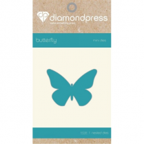 Diamond Press Mini Fashion Die - Butterfly