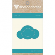 Diamond Press Mini Fashion Die - Clouds