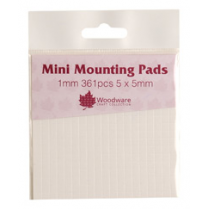 Woodware Mini Mounting Pads 1mm