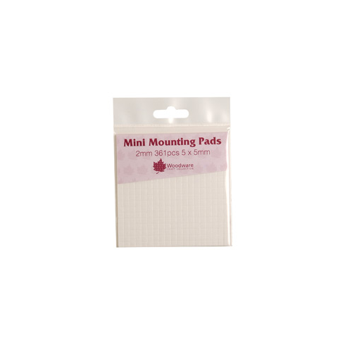 Woodware Mini Mounting Pads 2mm