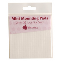 Woodware Mini Mounting Pads 3mm