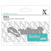 X-cut Mini Sentiment Die (2pcs) - Brother