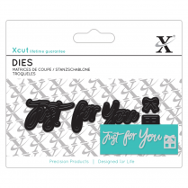 X-cut Mini Sentiment Die (3pcs) - Just For You