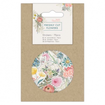 Docrafts Mini Stickers (75pcs) - Freshly Cut Flowers