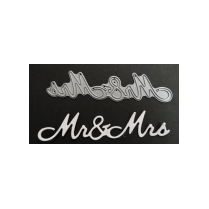 Britannia Dies Mr & Mrs - Large Font