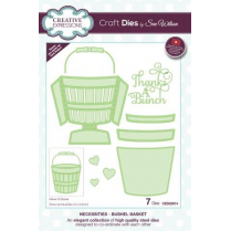 Sue Wilson Necessities Collection Bushel Basket Die