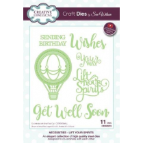 Sue Wilson Necessities Collection Lift Your Spirits Die