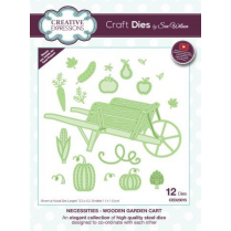 Sue Wilson Necessities Collection Wooden Garden Cart Die