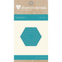 Diamond Press Nested Dies - Hexagons