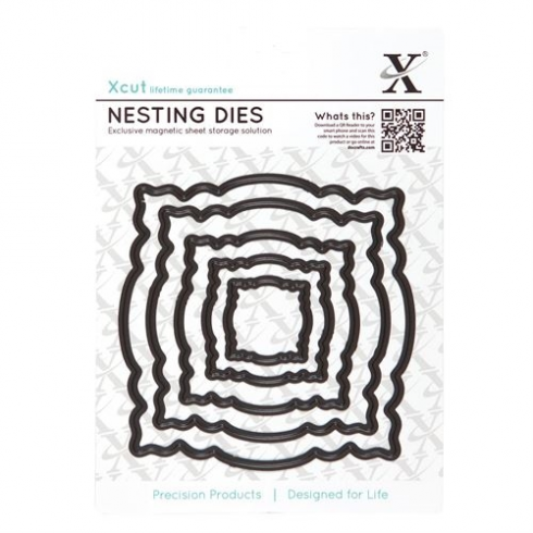 X-cut Nesting Dies - Ornate Frame (5pcs)