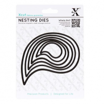 X-cut Nesting Dies - Paisley Leaves