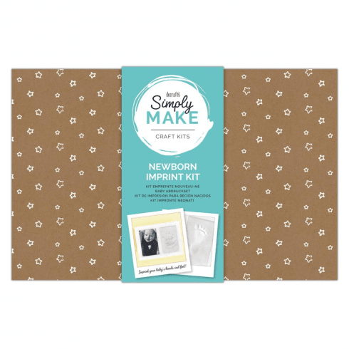 Docrafts NEWBORN IMPRINT KIT - SIMPLY MAKE