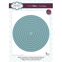 Sue Wilson Noble Collection Double Stitched Circles