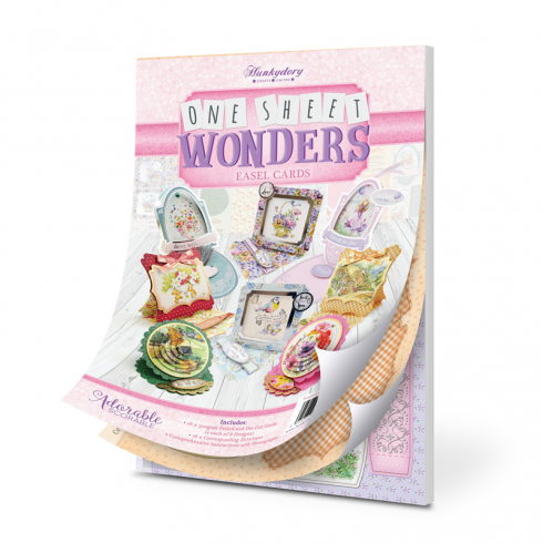 Hunkydory One Sheet Wonders - Easel Cards