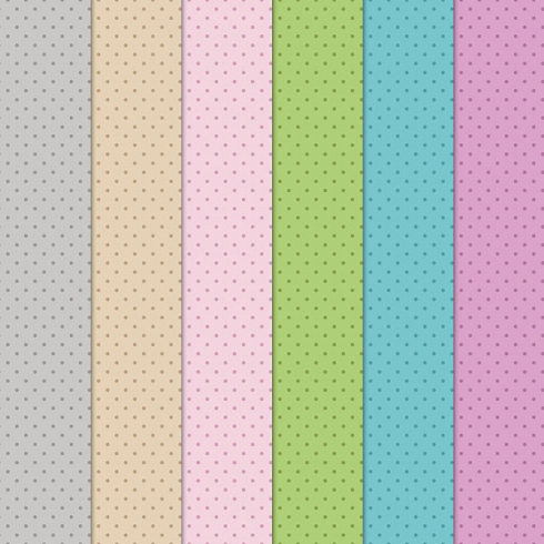 Craft Creations Pale Coloured Dots Background Papers